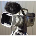 WindTech MM-22 Mic Muff Shotgun Microphone Windshield Fitted Fur Windscreen Cover