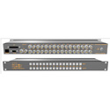Matrix Switch MSC-HD1616L 16x16 HD-SDI Matrix Routing Switcher w/ Front Panel and 3G