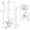Matthews B429754 Lightweight Telescoping Hanger with Clamp and Stirrup Mount - 5-10 Feet