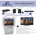Murideo FRESCO-SIX-A Portable 18GBPS 4K HDMI HDCP and EDID Analyzer - Rechargeable Li-ion Battery