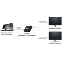 MuxLab 500505 DisplayPort 1x2 Splitter