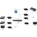 Muxlab 500767-RX-MM 3G-SDI/ST2110 over IP Uncompressed Gateway Converter / Extender RX - MMF