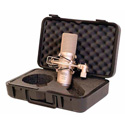 MXL 2006 Gold Diaphragm Condenser With Shock Mount and Carry Case