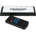 Ocean Matrix OMX-HDMI3X1-V2 4K/UHD 3x1 HDMI 2.0 Switcher with Remote Control