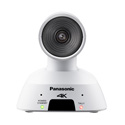 Panasonic AW-UE4WG Wide Angle 4K PTZ Camera with IP Streaming - White