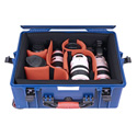 PortaBrace PB-2650DK Divider Kit Hard Combination Case (With Wheels)