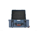 Portabrace PB-2750LPDK Shipping Case with Wheels - Holds Two Litepanels Astra - Blue