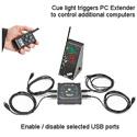D San PC-USB-4 Multi-Cue Port Expander
