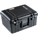 Pelican 1557 Air Case with Logo and TrekPak Divider System - Black