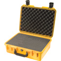 Pelican iM2400 Storm Case with Foam - Yellow