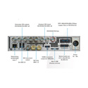 Phabrix PHQX01-IP Qx 1U 1/2 rack UHDTV Rasterizer with 3G IP/SDI Analyzer (SMPTE 2022-6)
