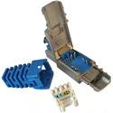 Platinum Tools 106250 PoEplus 10Gig Shielded RJ45 Field Plug
