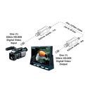 Plura EZlink-3GHD 12V XLR & Power Tap cable (Use with Anton Bauer & Sony Batteries)