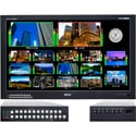 Plura MVM-146 46-Inch 4-Channel HD-SDI Broadcast Monitor Class A w/Multiviewer