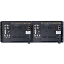 Plura PBM-209DRK-3G Dual 9-Inch 3G Quadruple Input Rackmount Video Monitor