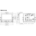 Plura PBM-217-4K 17 Inch - 4K Broadcast Monitor (3840 x 2160) - 4K - HDR Capability