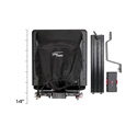 Prompter People PROP-15 ProLine Plus Teleprompter with 15 Inch Beamsplitter Glass - Regular Monitor