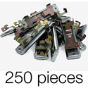 Green Glue RGG400400 Two-Piece QuietClip Sound Isolation Whisper Clips 250 Pack