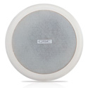 QSC AC-C4T 4 Inch Ceiling Mounted Loudspeaker- 70/100 with 8 Ohm Bypass -Pair