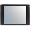 Recortec RMM-409N4L 19 Inch TFT 8U Rack Mount Monitor with Lexan Screen Protector - Black