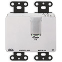 RDL DDB-BN22 Wall-Mounted Bi-Directional Mic/Line Dante Interface 2 x 2