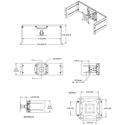 Middle Atlantic RM-LCD-PNLK LCD Monitor Rackmount Panel with Tilt Mechanism