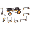 RocknRoller Multi-Cart 8-In-1 Equipment Transporter Cart - R12NF
