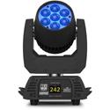 Chauvet ROGUE R1X WASH Compact LED Wash Mover w/ 7 15-Watt Quad LED & 8-48 Degree Zoom Range