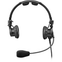 RTS LH-302 Double-Sided Headset Dynamic Mic - XLR 5-Pin Male Connector