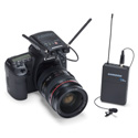 Samson SWC88VBLM10-D Concert 88 Camera UHF Wireless System - Lavalier LM10 (D Channel) - Li-ion Battery Included