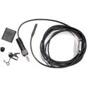 Sanken COS-11D Omni Lav Mic Normal Sens Hardwired 1/8 TRS Connector - Sennheiser Evolution Wireless Transmitter - Black
