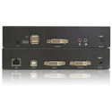 Smart-AVI KLX-500-S HD DVI-D/VGA Audio KVM Extender via LAN