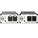 Sescom SES-FA2 Portable 2-Channel Mic & Line Level Audio Over Fiber Extender Kit