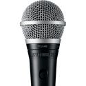 Shure PG Alta PGA48-QTR Cardioid Dynamic Vocal Microphone - XLR-1/4 Inch Cable