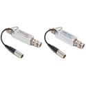 Multidyne SilverBullet Mini 3G HD/SDI Fiber Optic Link Kit - Transmitter/Receiver  & Case