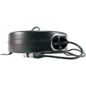 Stage Ninja CAT5-40-S Retractable CAT5e Cable Reel - Black - 40 Foot