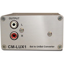 Sonifex CM-LUX1 Balanced to Unbalanced Converter Passive - XLR to Phono