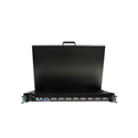 Startech RACKCONS1908 1U 19 Inch Rackmount LCD Console w/ Integrated 8 Port KVM Switch
