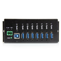 StarTech ST7300USBM 7 Port Metal Industrial SuperSpeed USB 3.0 Hub Mountable