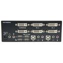StarTech SV231DD2DUA 2 Port Dual DVI USB KVM Switch with Audio & USB 2.0 Hub