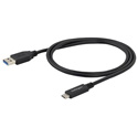 Startech USB315AC1M USB to USB-C Cable - M/M - 1 m (3 ft.) - USB 3.0 - USB-A to USB-C