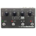 TC Ditto X4 Looper True Bypass Guitar Pedal w/ Built-In Decay & FX