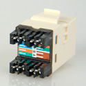 ADC-Commscope 2111475-1 T568A/T568B Category 6 RJ45 Jack Almond