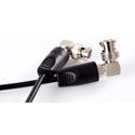 Teradek 11-0040 Coiled SDI Cable (3G HD SD) - 10 Inch