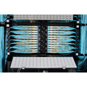 ADC-Commscope TFP-1TT00-000B 1RU Rack Frame for 1 Angle Left & Right Adapter