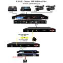 Thor F-1ASI 1 Channel DVB-ASI Fiber Optic Tx & Rx