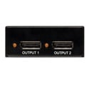 Tripp Lite B156-002 2-Port Displayport Multi Display Splitter Expander Booster TAA