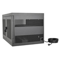 Tripp Lite CSC16AC 16-Device AC Charging Station with Secure Storage and Cord Management for Chromebooks/Laptops - Black