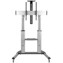 Tripp Lite DMCS60100XX Heavy Duty Mobile TV Floor Stand Cart - Height-Adjustable - for 60-100 Inch Displays