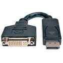 Tripp Lite P134-000 DisplayPort Male to DVI-I Single Link Female Adapter